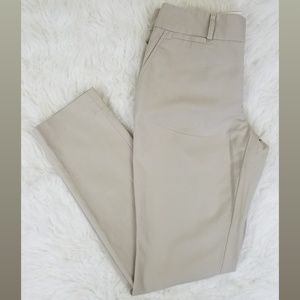 Banana Republic Beige Jackson Trouser Pants Size 6
